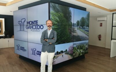 """Entrevista a Diego Escario, arquitecto socio director de Cano y escario Arquitectura: """"Montegancedo va a suponer un nuevo modo de vivir, una ciudad en armonía perfecta con la naturaleza"""""""