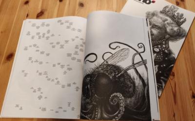 """Rodrigo Sánchez, director de Arte del diario El Mundo y de Unidad Editorial: """"Es un libro que se podría definir como un jeroglífico, se disfruta más mirándolo que leyéndolo"""""""