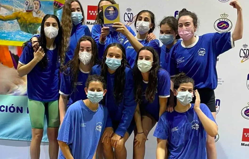 Las chicas del Club Natación Pozuelo ascienden a División de Honor